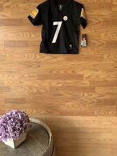Pittsburgh Steelers Roethlisberger #7 5/6 M Jersey NFL Reebok