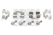 Zubehörsatz, Scheibenbremsbelag für Bremsanlage Hinterachse MAPCO 9322