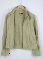 POLO BY RALPH LAUREN Men's M Embroidered Elbow Patch Harrington Jacket 24526/JS