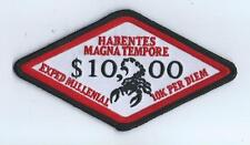 "VAQ-132 ""132 EXPED MILLENIAL"" ""10K PER DIEM"" ""THE LATEST"" patch"