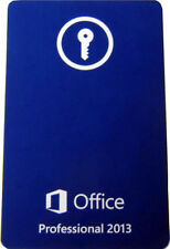 Microsoft Office 2013 Professional Full Retail Product Key Card (PKC)=BRAND NEW=
