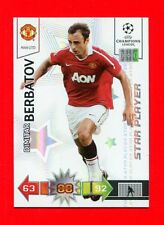 CHAMPIONS LEAGUE 2010-11 Panini 2011 -Card Star Player- BERBATOV - MAN UTD