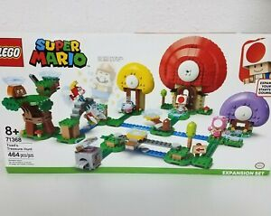 LEGO Super Mario Toad's Treasure Hunt Expansion Set 71368, Read Full Description