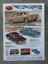 TRAX CATALOGUE 2010 Brochure 1/43 DieCast CHARGER HOLDEN EH UTE FORD VALIANT AP6