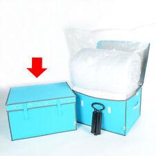 Grand sac boîte de rangement sous vide gain d'espace sac sacs space saver literie vêtements