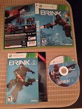 Brink (Microsoft Xbox 360, 2011) Complete, CIB