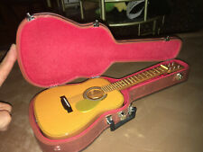Wooden Miniature Guitar Instrument & Case for American Girl Doll.