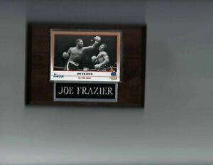 JOE FRAZIER PLAQUE BOXING CHAMPION   C