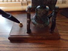 Vintage Liberty Bell Pen Holder Desk Decor 1980s 1990s