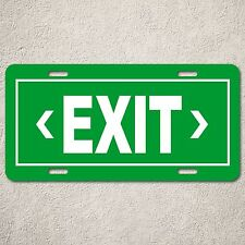 LP0221 Exit sign Auto Car License Plate Bar Restaurant Boy Room wall Decor