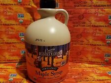 Coombs Family Farms Organic Maple Syrup Grade A Amber 64oz, exp 2019