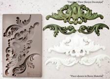THORTON MEDALLION RE-DESIGN Prima Decor Moulds Molds Food Safe 8X5 Resin #632281
