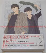 SUPER LOVERS Vol.2 First Limited Edition Blu-ray Radio CD Manga Booklet Japan