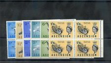 Ascension Is Sc 75a-8a,80a,84a(Sg 70,3,5,9)*Vf Nh 1963 Bklt Panes Complete $140