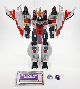 Transformers Cybertron Supreme Starscream - Complete w/ Box - Collector Owned EX