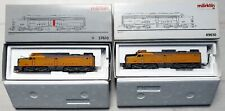 MARKLIN Réf. 37610 & 49610 Locomotive Diesel double traction USA  type PA ALCO
