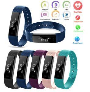 Fitness Smart Watch Band Sport Activity Tracker Kid Adult Women Men Step Counter