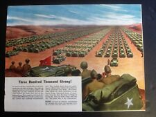 Jeeps, Trucks, Military Vehicles WWII Ad