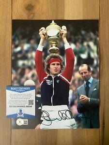 John McEnroe Signed Autographed 8x10 Photo COA BAS Beckett #BA09348