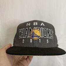 Golden State Warriors NBA Champion 2015 Adidas Official Locker Room Logo Hat Cap