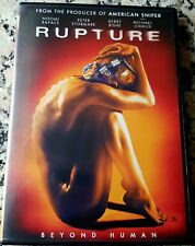 RUPTURE UNRATED DVD Noomi Rapace Kerry Bishe Steven Shainberg Beyond Human