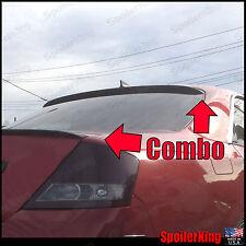COMBO (Fits: Infiniti M45 2003-04 Y34) Rear Roof Wing & Trunk Spoiler 284R/244L