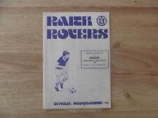Raith Rovers v Rangers Scottish League Cup 26/08/81
