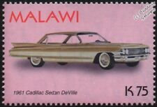 1961 CADILLAC Sedan Deville Comme neuf automobile voiture TIMBRE (2003 Malawi)