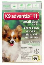 K9 Advantix II for Small Dog 4-10lbs - 2 Doses (US EPA Approved) Free Shipping