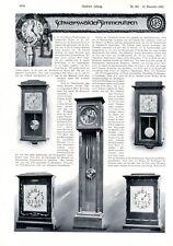 Furtwangler Clock Germany German Ad 1903 Grandfather Clock Advertisement Xc Advertising Collectibles