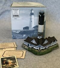 Oak Island Lighthouse Nc #240 Harbour Lights 1999 Coa Figurine Nib