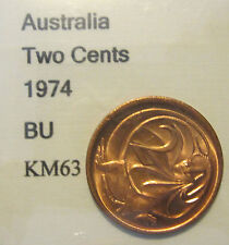 1974 Australia 2c Two Cent UNCIRCULATED FROM MINT SET