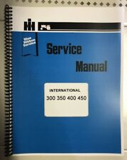 W450 International Technical Service Shop Repair Manual W 450 Diesel