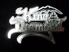 KING DIAMOND    PIN  BADGE