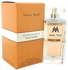 New York by Victor Manuelle for Women Eau de Parfum 3.3 oz/100 ml, New In Box