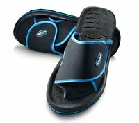 Roxoni Men's Adjustable Beach/Shower Slide Sandals