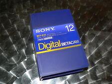 SONY Digital Betacam BCT-D12 2 Stück Professional Videotape NEU