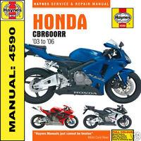 Honda CBR600 CBR600RR 2003-2006 Haynes Workshop Manual 4590 NEW
