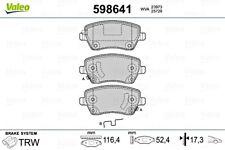 VALEO Disc Brake Pad Set Front For RENAULT DACIA NISSAN MERCEDES II 41060AX625