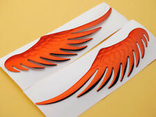 Red Angel Eagle Wing Emblem Badge Decal Motorcycles Fuel Oil Tank Fairing Custom