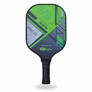 DinkPro Finesse Pickleball Paddle, Composite Graphite Face, Honeycomb Core