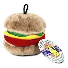 Aspen Pet Booda Softbite Hamburger Plush Medium  (Free Shipping in USA)
