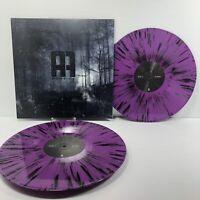 Attack Attack! - Self-Titled Clear Blue Split Purple Splatter Vinyl 2xLP NEW
