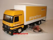 ELIGOR MERCEDES BENZ ACTROS 1848 FOURGON SWISS POST - POSTES SUISSES au 1/43°