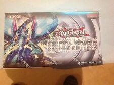 YUGIHO PRIMAL ORIGIN DELUKE EDITION  BOX FACT SEALD