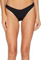 LSpace Women's 174298 Whiplash Bikini Bottoms Swimwear BLACK Size S