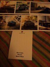 Macan porsche serie 6 cartoline+box da collezione: 6 postcards+ box