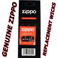 Genuine Zippo Replacement Wick 1 Pack Wicks NEW USA