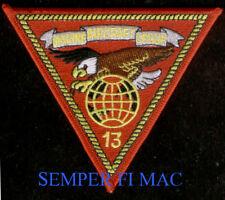 MAG-13 HAT PATCH US MARINE AIR GROUP 3D MAW MCAS EL TORO YUMA MIRAMAR A4 AV8 WOW