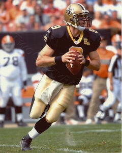 Drew Brees New Orleans Saints 8x10 Color Photo SP147 Men